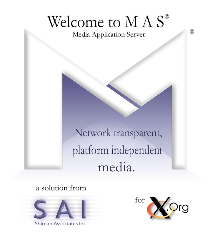 Welcome to MAS - Media Application Se